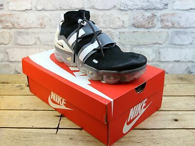Mens Nike Air Vapormax Fk Utility Black Flyknit Toggle Fitness Trainers Size 9