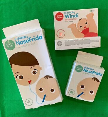 NoseFrida The Snotsucker, Windi, and Hygiene Filters Bundle