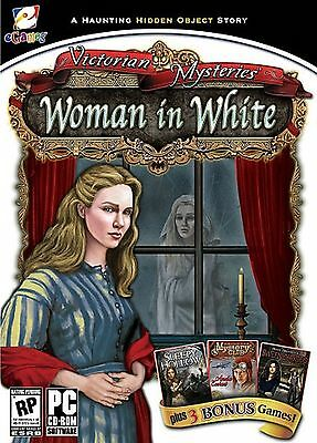 Victorian Mysteries WOMAN IN WHITE Hidden Object 4 PACK PC Game CD-ROM NEW
