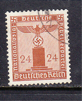 Germany postage stamp - 1942 Party Official - No WMK - 24pf Used