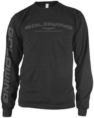 Honda Collection Gold Wing Long Sleeve T-Shirt Black Large