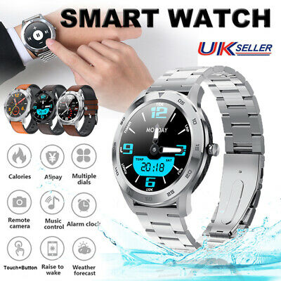 HD Display Bluetooth Smart Watch Touch Blood Pressure Men Women For Android iOS