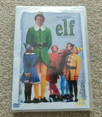 Elf - 2 Disc Edition (DVD, 2017) - NEW SEALED
