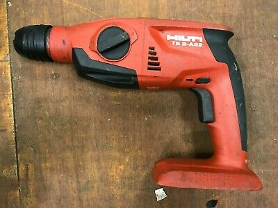Hilti Te2-A22 Sds Hammer Drill,22 Volt Cordless Hammer Drill   Body Only