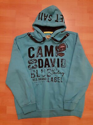 CAMP DAVID HOODIEKAPUZENPULLOVER XL *Artic Surf I
