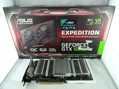 Asus Expedition Geforce Gtx1060-O6G Gaming Nvidia Grafikkarte Pcie 3.9 6Gb Ddr5