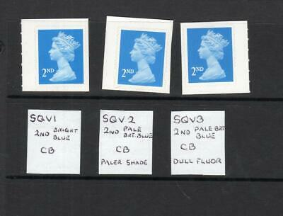 SPECIALISED COLLECTION OF UNMOUNTED MINT 2nd NVI MACHINS
