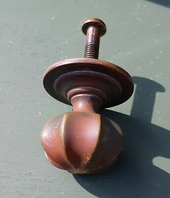 Early Brass Pull Knob For Entrance Door