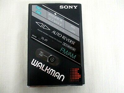 Vintage Sony Walkman Wm-F100 11 Am/Fm Cassette Player