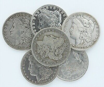 Pre 1921 Silver Morgan Dollar Better Detail Cull Lot of 20 *Credit Card Only