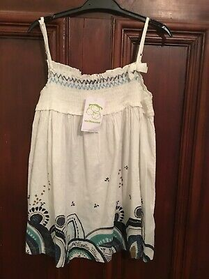 Girls VERTBAUDET White Cami Top Age 14 Years BNWT