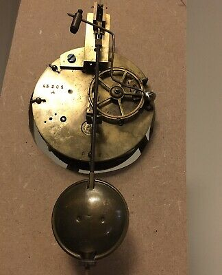 Antique French Japy Freres Clock two train movement,working with Pendulum.
