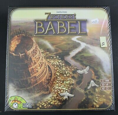 New Sealed - 7 Wonders Babel - Expansion - Board Game - Repos Production (12