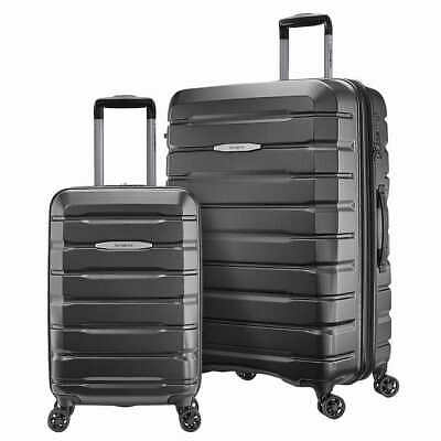 "GRAY SAMSONITE Tech Two 2-Piece Hardside Spinner Luggage Set 20"" & 27"""