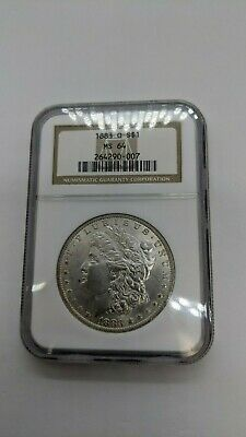 1883-O Morgan Silver Dollar $1 Coin NGC MS 64  - No Reserve - Older Label