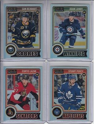 14/15 OPC Platinum Winnipeg Jets Adam Lowry Rainbow RC card #164