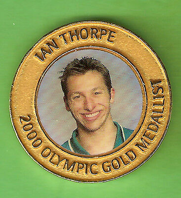 SYDNEY OLYMPIC MEDAL - IAN  THORPE, MEN'S 400m FREESTYLE SWIMMING