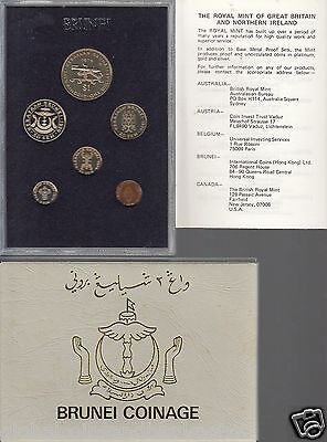 1979 Brunei Coinage 6 Proof Coin Set ..