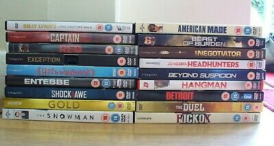 18 DVDs:Thrillers, True Story, Drama, Military, Westerns: Al Pacino, Tom Cruise+