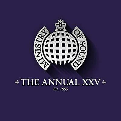 The Annual XXV - Ministry Of Sound - Limited Edition - Various (NEW 3CD)