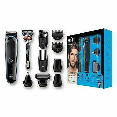 Braun MGK5080 All-in-one Hair Trimmer 9 In 1 + Gillette Brand New And Sealed