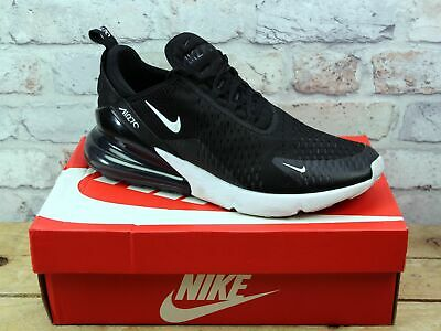 Mens Nike Air Max 270 Black Mesh Sports Running Gym Trainers Uk Size 10 Rrp £115