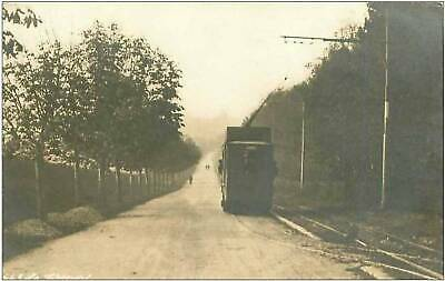 76.Le Treport.cp Photo.tramway.tacot