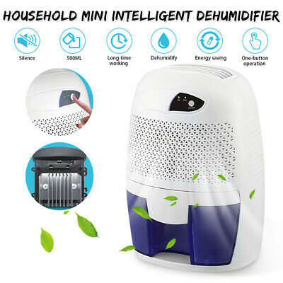 500ML Portable Mini Intelligent Dehumidifier Electric Quiet Air Dryer For Home