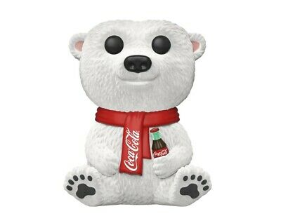 Funko Pop! Coca-Cola Polar Bear #58 New  |Ad Icons Series|