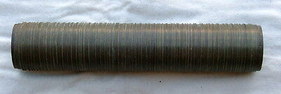 Wallpaper Rotogravure Print Copper Intaglio Striped Pattern Engraving Cylinder
