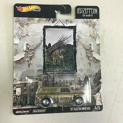 2020 Hot Wheels Pop Culture Led Zeppelin 67 Austin Mini Van 4/5  - In Stock