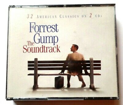 Forrest Gump The Soundtrack 32 American Classics on 2 CD's 1994 Sony