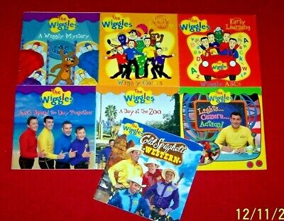 7 THE WIGGLES Picture Books Cold Spaghetti Western Day At Zoo Wiggly Mystery