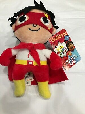 "Giant 15/"" Ryan's World RYAN Youtube  Plush Titan Super Hero Stuffed Toy."