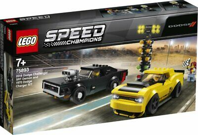 LEGO® Speed Champions 75893 2018 Dodge Challenger & Charger NEU OVP