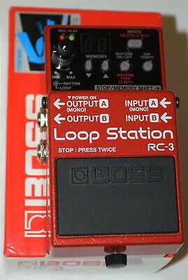Boss RC-3 Loop Station Guitar Pedal ~ USED