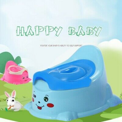 Kids Girl Boy Portable Potty Training Toilet Cartoon Seat Baby Chair Trainer US