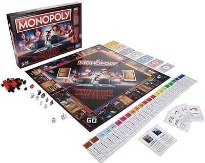 MONOPOLY: Stranger Things Edition NETFLIX 80's Board Game HASBRO