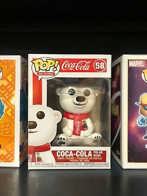Funko Pop! Ad Icons: Coca-Cola Polar Bear #58 Vinyl Figure