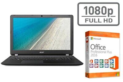 "NOTEBOOK ACER 2540 - INTEL CORE i5 - WIN 10 PRO + OFFICE - 15.6"" FULL HD MATT"