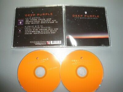 2 Cd Deep Purple Live And Montreux And In Concert