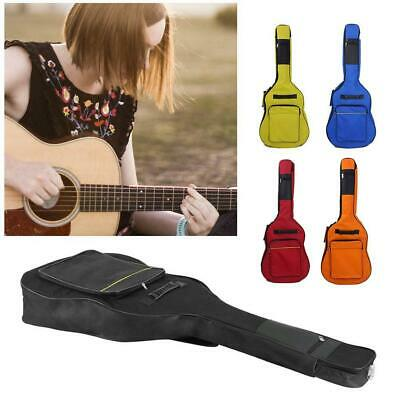 Black New Padded Full Size Acoustic Classical Guitar Bag Case Cover High Quality