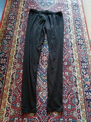 New Look Womens Ladies Black Leggings With Stretch Size 10