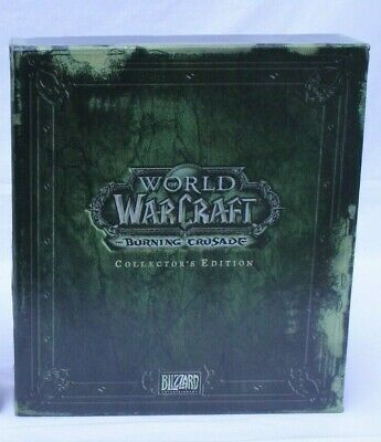 World Warcraft Burning Crusade Collectors Edition Preowned (886D1)