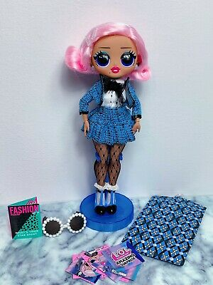 LOL Surprise Amazing Surprise OMG Uptown Girl Doll With 2 Storage Cases