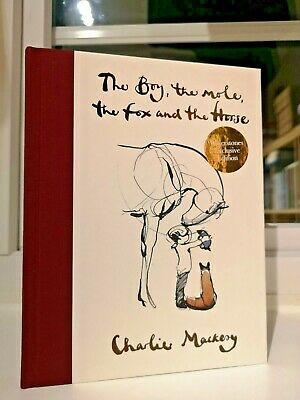 Charlie Mackesy The Boy, The Mole, The Fox and The Horse SIGNED DOODLED UK HB