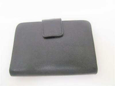 "ROSETTI  Black Faux Leather Day Planner Ring Binder Orgainizer 6"" x 4"""