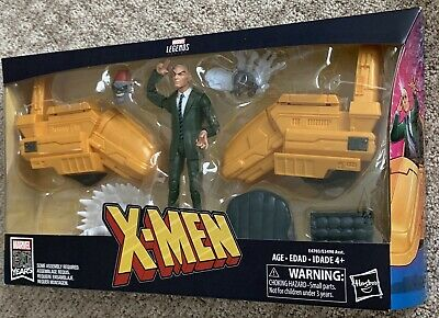 Marvel Legends Professor X Figure X-Men Xavier Hover Chair 80th Shadow King BAF