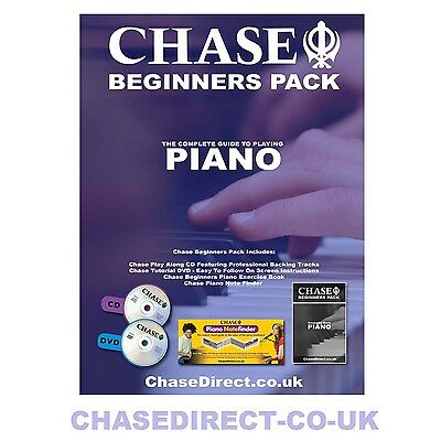 Learn to Play The Piano or Keyboard Book With DVD CD Note Finder & Easy Lessons