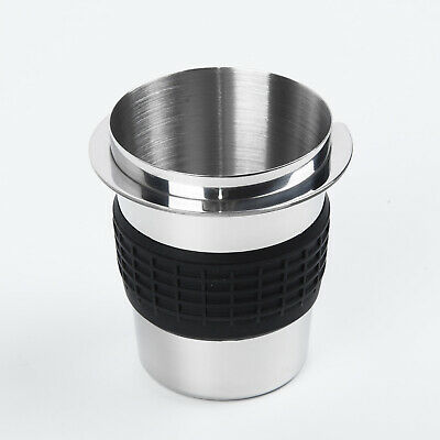 For EK43 Grinder Cup Stainless Steel Dosing Maker Coffee Powder Feeder Cup UK!